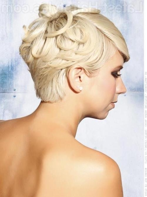 59 Stunning Wedding Hairstyles For Short Hair 2017 With Cute Hairstyles For Short Hair For A Wedding (View 15 of 15)