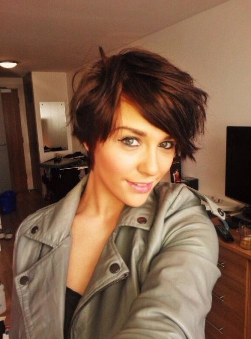 60 Delightful Short Hairstyles For Teen Girls With Regard To Short Hair Cuts For Teenage Girls (View 7 of 15)