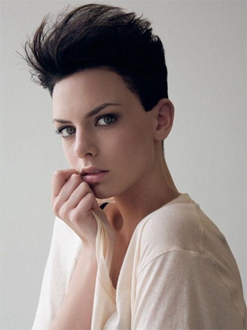 60 Delightful Short Hairstyles For Teen Girls Within Short Hairstyles For Teenage Girl (View 8 of 15)