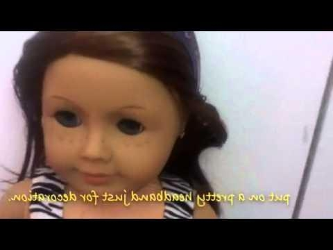 7 Cute Hair Styles For Dolls With Short Hair – Youtube Within Cute American Girl Doll Hairstyles For Short Hair (Gallery 1 of 182)