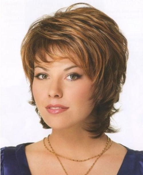 70 Stupendous Short Haircuts Perfect For Round Faces Throughout Short Hairstyles For Women With A Round Face (View 10 of 15)