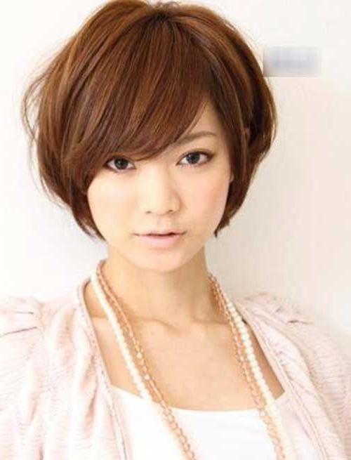 70 Stupendous Short Haircuts Perfect For Round Faces With Short Girl Haircuts For Round Faces (View 4 of 15)