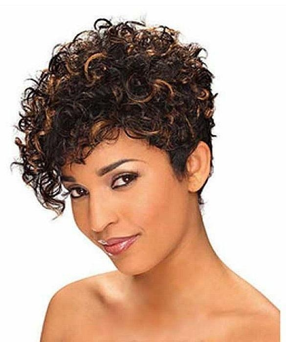 8 Best Short Hair Cut Woman Images On Pinterest | Hairstyle, Short Within Short Hairstyles For Women With Curly Hair (Gallery 12 of 15)