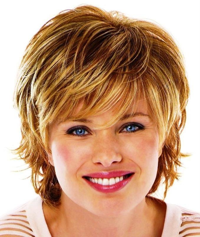 80 Best Short Hair Images On Pinterest | Hairstyles, Short Hair Pertaining To Short Hairstyles For Fine Hair And Fat Face (View 2 of 15)