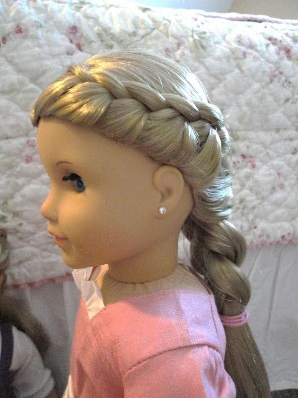 81 Best American Girl Doll Hair Images On Pinterest | American In Hairstyles For American Girl Dolls With Short Hair (Gallery 29 of 277)