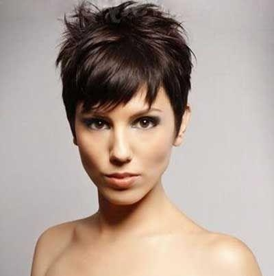 90 Best Hair Images On Pinterest | Short Hair, Hairstyle And Make Up Within Short Funky Hairstyles For Over 40 (Gallery 5 of 15)