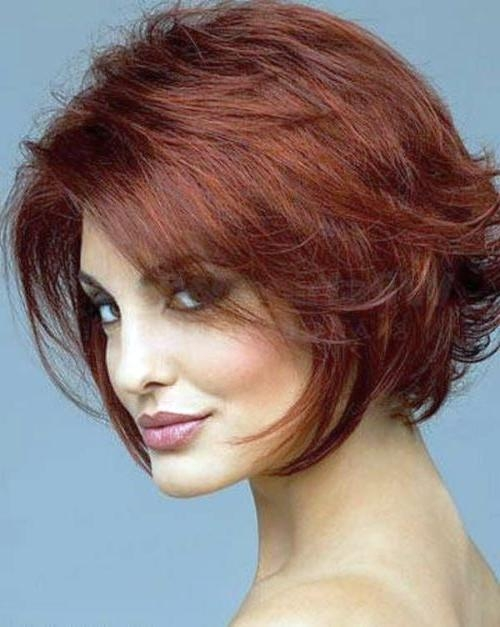 93 Best Hair Images On Pinterest | Hairstyles, Short Hair And Hair Pertaining To Short Hairstyles For Round Faces With Double Chin (View 5 of 15)
