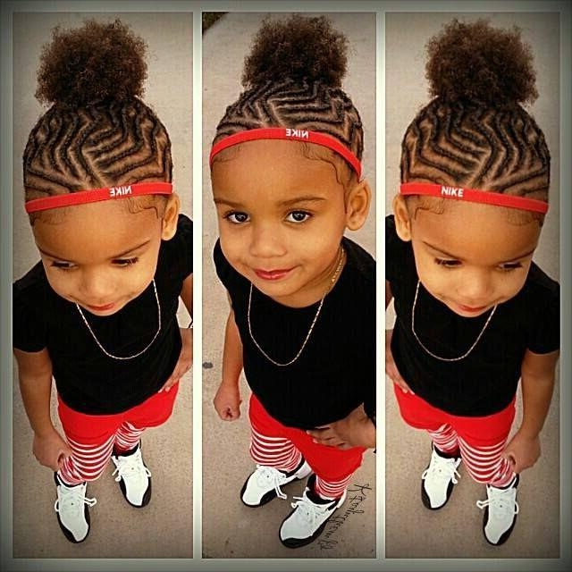 97 Best Hair – Kids Images On Pinterest | Hairstyle, Natural Hair Inside Black Little Girl Short Hairstyles (View 4 of 14)