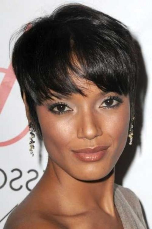 African American Short Hairstyles – Black Women Short Hairstyles For Short Layered Hairstyles For Black Women (View 15 of 15)