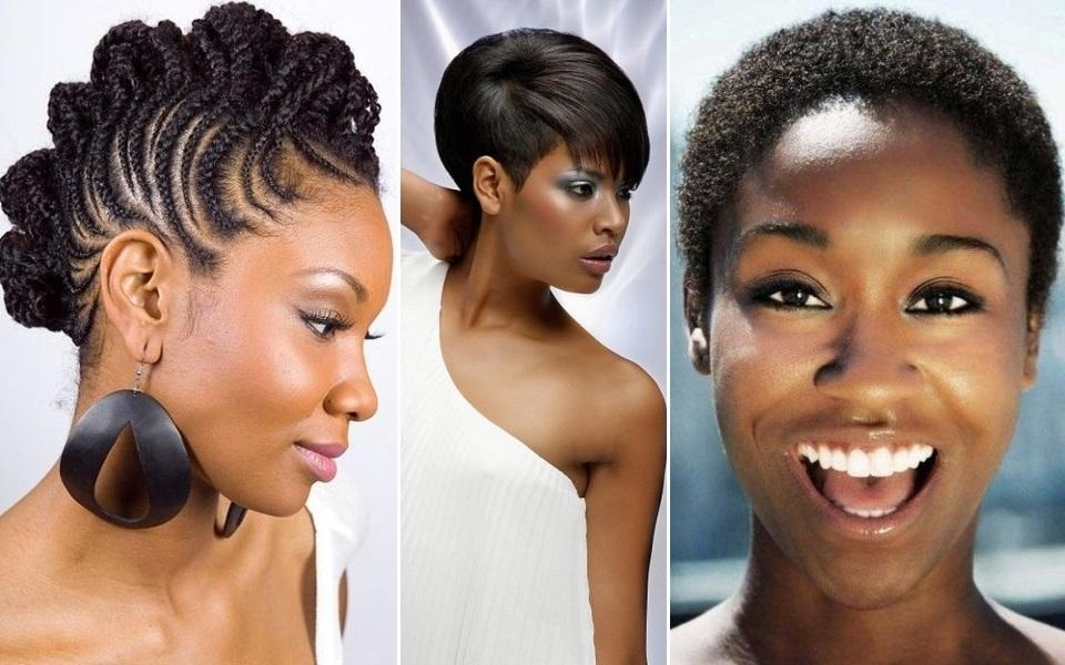 African Hair Styles For Oval Shaped Faces ~ Hair Is Our Crown Throughout Short Black Hairstyles For Oval Faces (View 8 of 15)