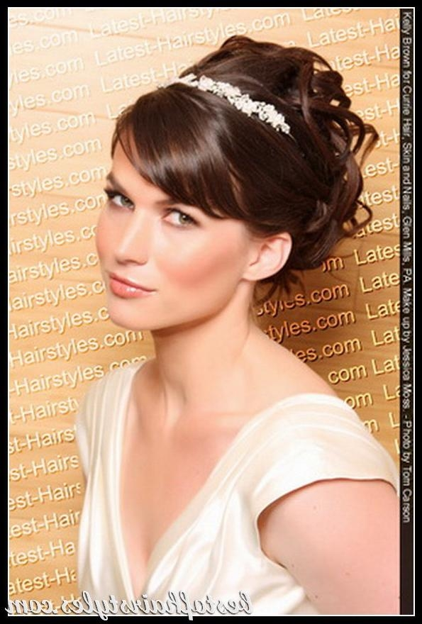 Awesome Bride Hairstyles For Short Hair Photos – Awesome Wedding In Bridal Hairstyles Short Hair (View 15 of 15)