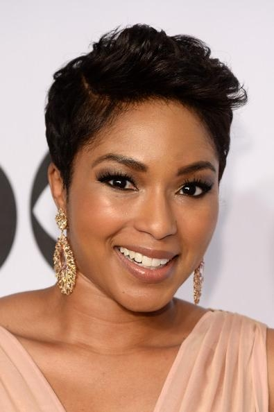 Awesome Short Hairstyles For Black Women With Oval Faces Images Inside Short Hairstyles For Black Women With Oval Faces (View 7 of 15)