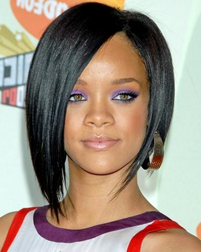 Beautiful Hairstyles For Black Women With Short, Medium Length Or With Regard To Short To Medium Black Hairstyles (View 2 of 15)