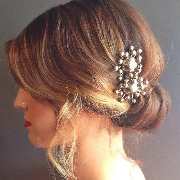 Beautiful Wedding Hairstyles Short Hair Inspir #24234 | Johnprice.co Pertaining To Brides Hairstyles For Short Hair (Gallery 13 of 15)