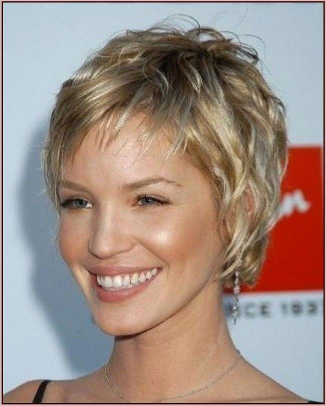 Styles For Fine Hair Fair Photo Gallery Of Short Hairstyles For Fine Hair For Women Over 50 .