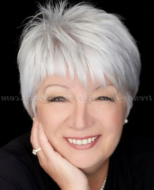 Best 10+ Hairstyles Over 50 Ideas On Pinterest | Hair Over 50 With Ladies Short Hairstyles For Over 50S (View 7 of 15)