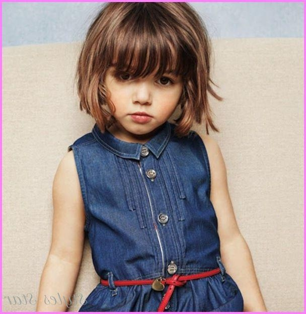 Best 10+ Kids Short Haircuts Ideas On Pinterest | Girl Haircuts In Little Girl Short Hairstyles Pictures (View 4 of 15)