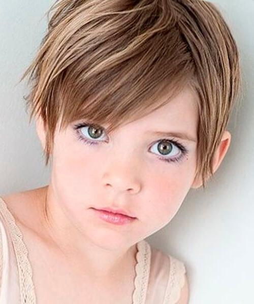 Best 10+ Kids Short Haircuts Ideas On Pinterest | Girl Haircuts Inside Short Hairstyles For Young Girls (View 2 of 15)