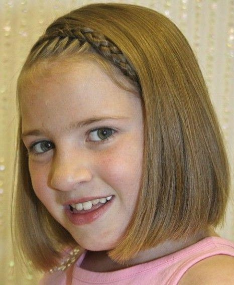 Best 10+ Kids Short Haircuts Ideas On Pinterest | Girl Haircuts Pertaining To Short Hairstyles For Young Girls (View 4 of 15)