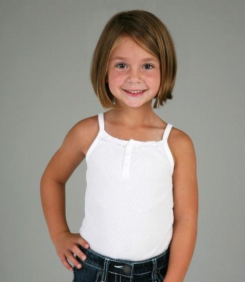 Best 10+ Kids Short Haircuts Ideas On Pinterest | Girl Haircuts Pertaining To Young Girl Short Hairstyles (View 13 of 15)