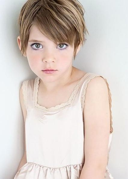 Best 10+ Kids Short Haircuts Ideas On Pinterest | Girl Haircuts With Regard To Young Girl Short Hairstyles (View 2 of 15)