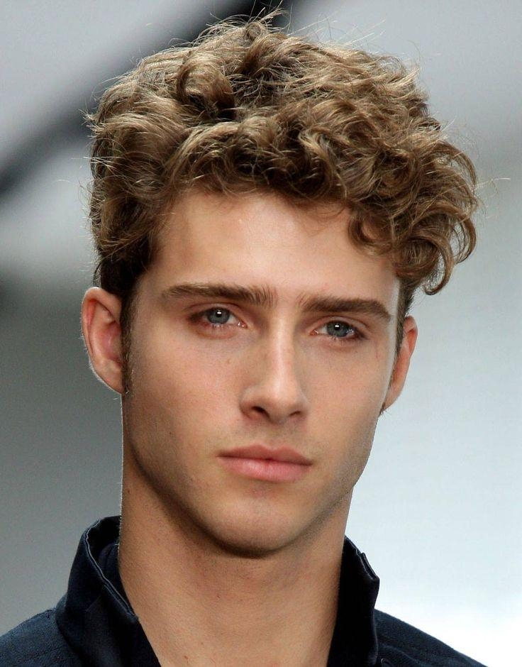 Best 10+ Men Curly Hair Ideas On Pinterest | Men Curly Hairstyles Inside Curly Short Hairstyles For Guys (View 7 of 15)