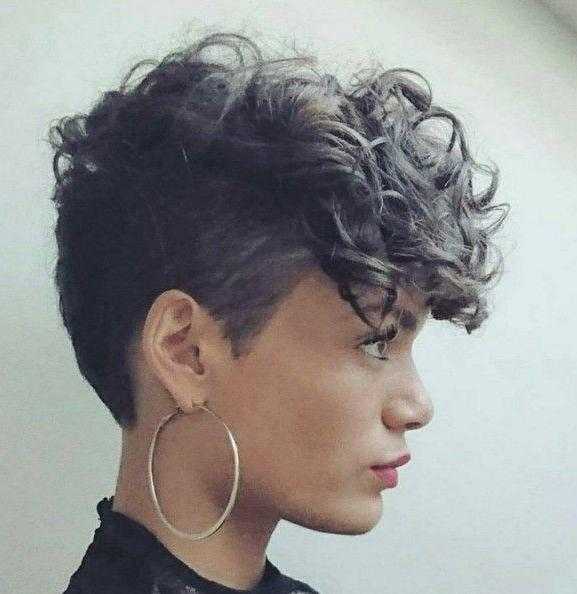 Best 10+ Short Curly Hair Ideas On Pinterest | Curly Short, Short Intended For Women Short Hairstyles For Curly Hair (View 7 of 15)