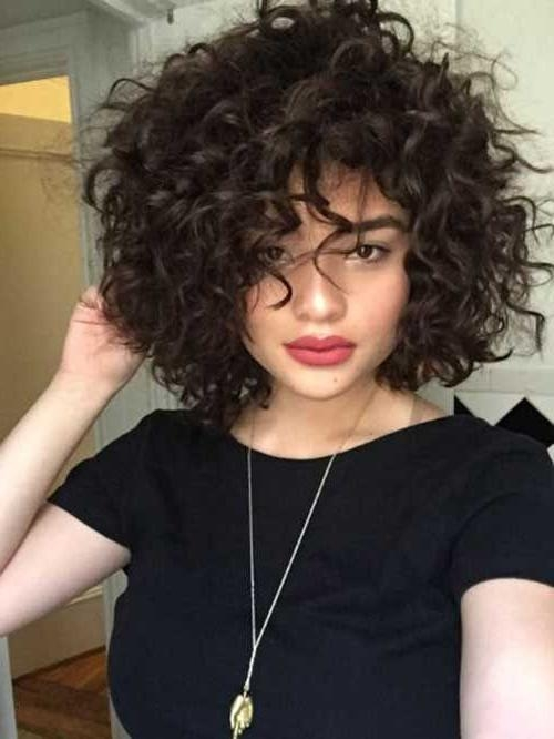 Best 10+ Short Curly Hair Ideas On Pinterest | Curly Short, Short With Short Curly Haircuts Tumblr (View 8 of 15)