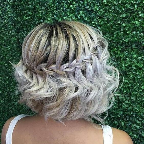 Best 10+ Short Prom Hair Ideas On Pinterest | Short Bridesmaid Intended For Homecoming Short Hair Styles (View 5 of 15)
