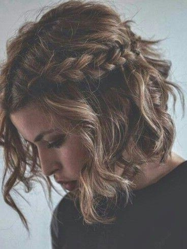 Best 10+ Short Prom Hair Ideas On Pinterest | Short Bridesmaid Intended For Homecoming Short Hair Styles (View 4 of 15)