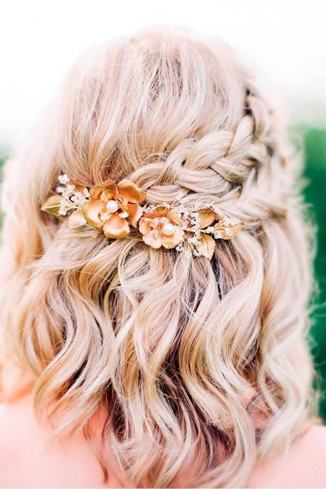 Best 10+ Short Prom Hair Ideas On Pinterest | Short Bridesmaid Regarding Cute Short Hairstyles For Homecoming (View 7 of 15)