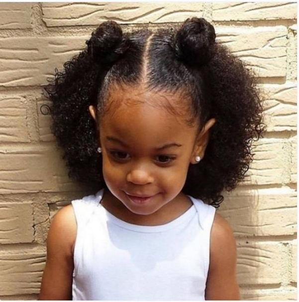 Photo Gallery of Black Baby Hairstyles For Short Hair (Viewing 15 of ...