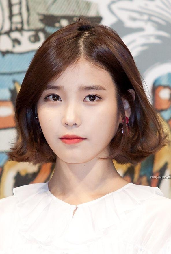 2019 Latest Korean Short Bob Hairstyles