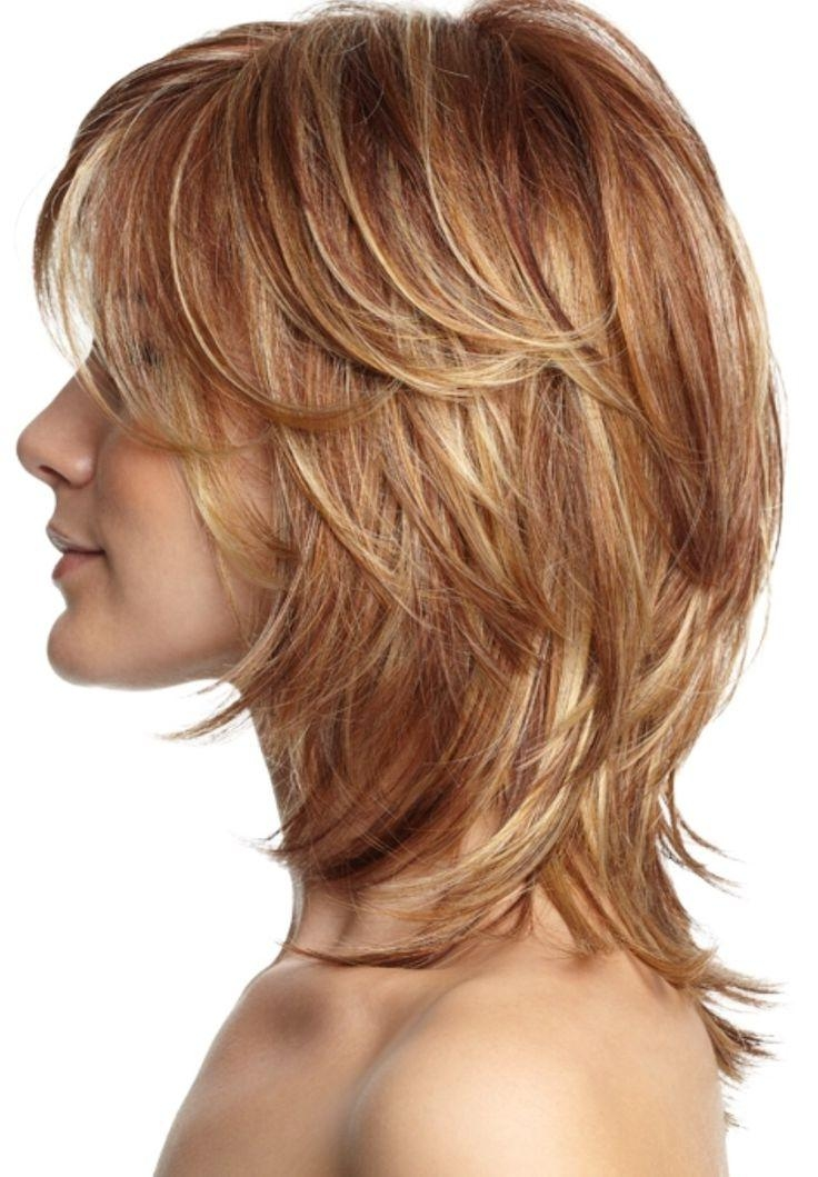 Photo Gallery of Short To Mid Length Layered Hairstyles (Viewing 3 ...