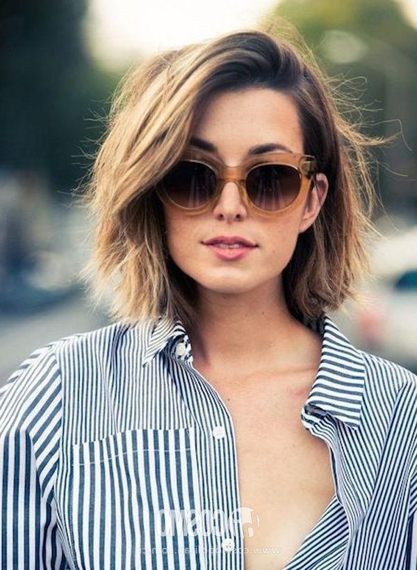 Best 20+ Round Face Short Hair Ideas On Pinterest | Haircuts For Inside Short Hairstyles For Women With A Round Face (View 12 of 15)