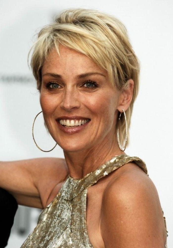 Best 20+ Sharon Stone Hairstyles Ideas On Pinterest | Sharon Stone In Short Hair 50 Year Old Woman (View 5 of 15)