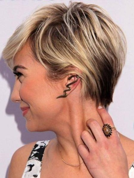 Best 20+ Short Blonde Ideas On Pinterest | Blonde Short Hair In Short Blonde Styles (View 2 of 15)