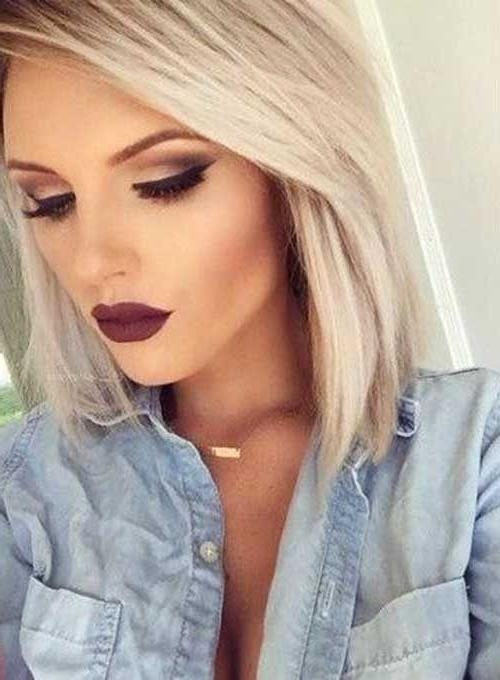 Best 20+ Short Blonde Ideas On Pinterest | Blonde Short Hair Within Short Blonde Hair With Bangs (View 8 of 15)