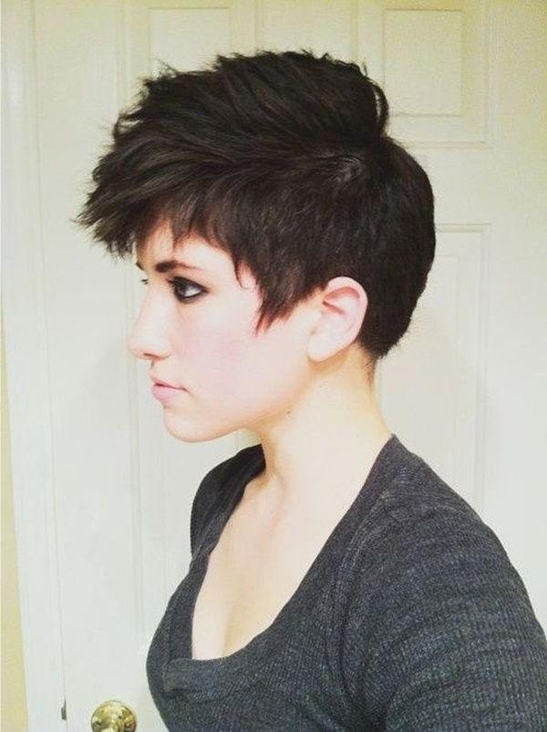 Best 20+ Short Punk Hairstyles Ideas On Pinterest | Punk Pixie Inside Short Edgy Girl Haircuts (View 5 of 15)