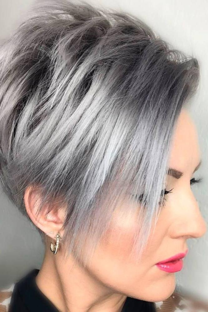 Best 20+ Short Trendy Haircuts Ideas On Pinterest | Short Haircuts Intended For Trendy Short Hair Cuts (View 14 of 15)