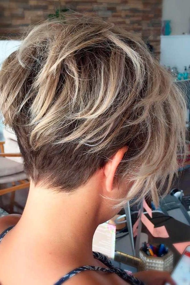 Best 20+ Short Trendy Haircuts Ideas On Pinterest | Short Haircuts With Regard To Trendy Short Hairstyles (View 7 of 15)