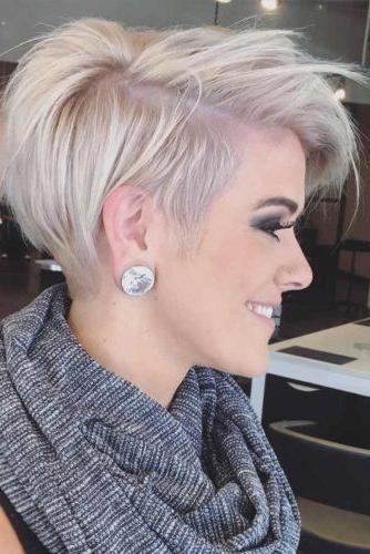 Best 20+ Short Trendy Haircuts Ideas On Pinterest | Short Haircuts With Trendy Short Hairstyles (View 8 of 15)