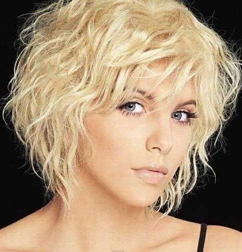 Photo Gallery of Short Curly Hairstyles For Fine Hair (Viewing 3 of ...