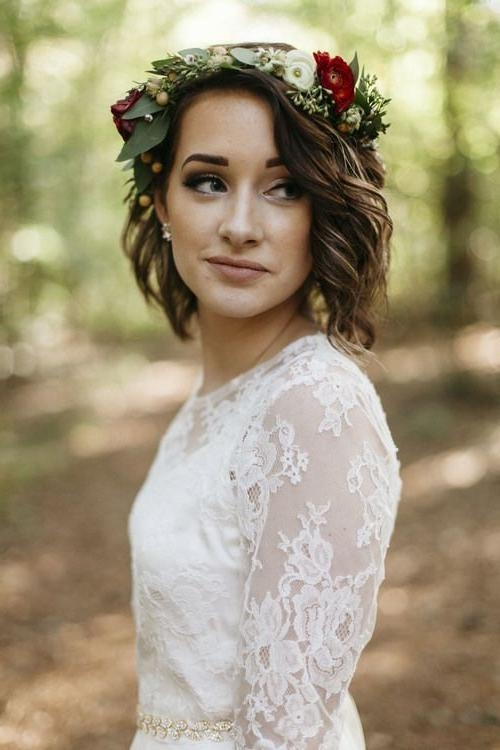 Best 20+ Wedding Hairstyles For Short Hair Ideas On Pinterest For Wedding Hairstyles With Short Hair (View 3 of 15)