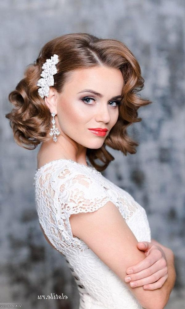Best 20+ Wedding Hairstyles For Short Hair Ideas On Pinterest Inside Hairstyle For Short Hair For Wedding (View 5 of 15)