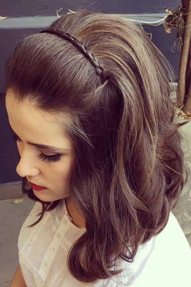 Best 20+ Wedding Hairstyles For Short Hair Ideas On Pinterest Pertaining To Hairstyle For Short Hair For Wedding (View 6 of 15)