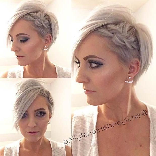 Best 20+ Wedding Hairstyles For Short Hair Ideas On Pinterest Throughout Wedding Hairstyles With Short Hair (View 6 of 15)