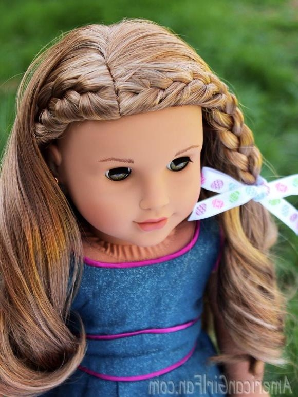 Best 25+ Ag Doll Hairstyles Ideas On Pinterest | Doll Hairstyles Regarding Cute American Girl Doll Hairstyles For Short Hair (View 4 of 15)