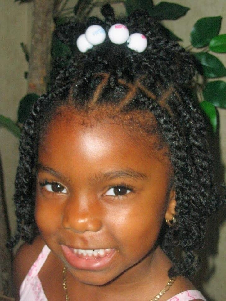 Best 25+ Black Baby Girl Hairstyles Ideas On Pinterest | Natural For Black Baby Hairstyles For Short Hair (View 4 of 15)