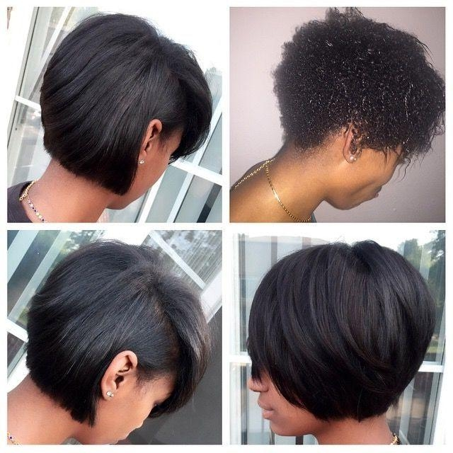 Best 25+ Black Hair Bob Ideas On Pinterest | Black Long Bob, Short Regarding Short Black Bob Haircuts (View 12 of 15)